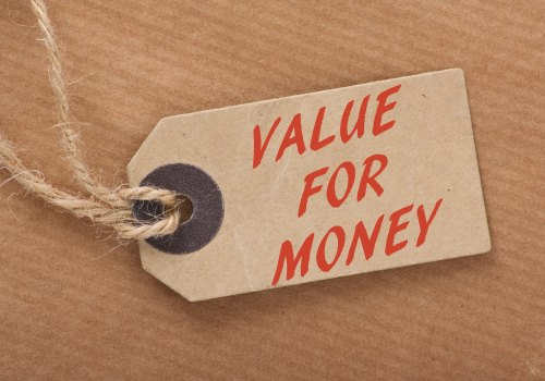 Value for money written on a tag. Are you getting good value on your energy tariff?