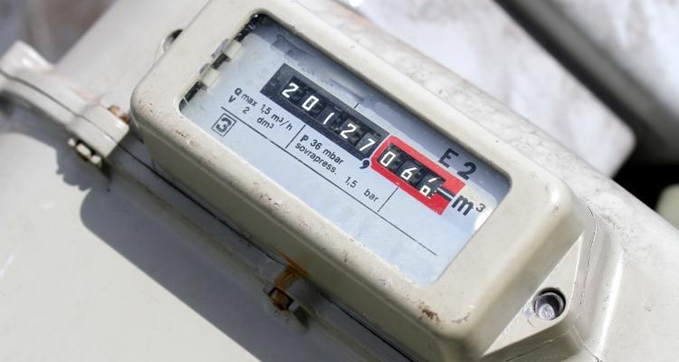 Metric gas meter